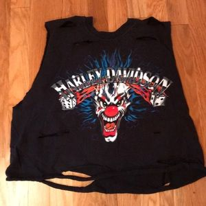 Low Price 💥 Harley Davidson distressed tank